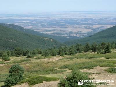 El Pico del Nevero y la Cascada del Chorro - excursiones en madrid; el tiemblo castañar